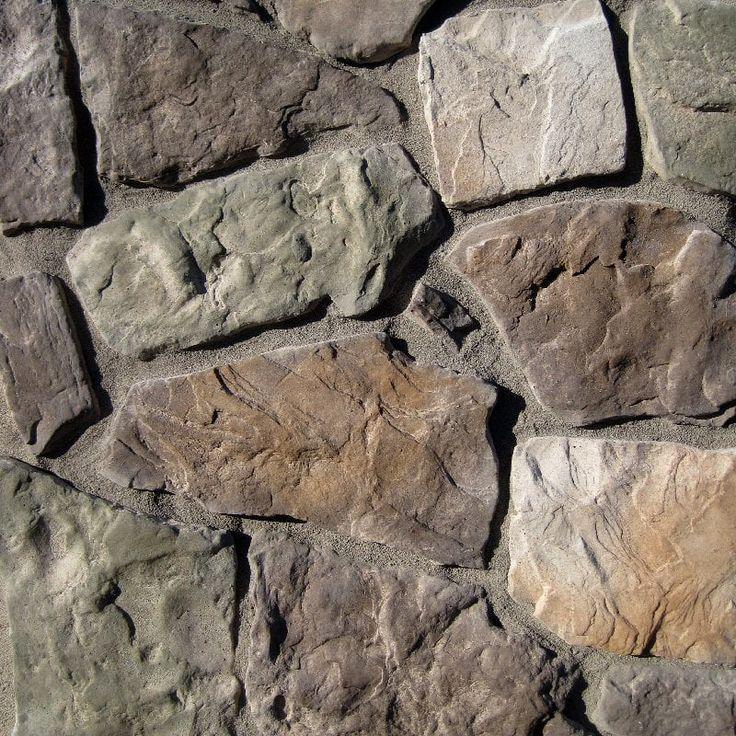 Manufactured Stone - Field Stone Mossy Creek - Mossy Creek / Flat