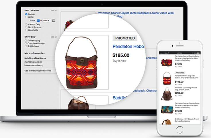 EBay's New Promoted Listings Ads: Sellers Pay Only When Users Buy Ads allow sellers to promote relevant products in eBay search results.