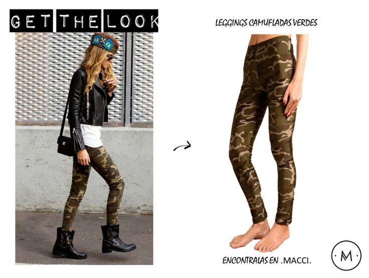 Leggings Camufladas www.macci.cl Shop Now (ENVIOS A TODO CHILE)