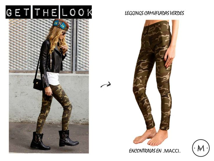 Leggings Camufladas www.macci.cl Shop Now (ENVIOS A TODO CHILE)
