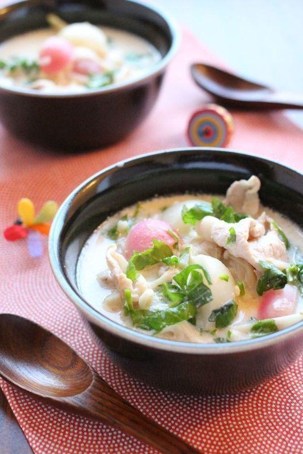 七草・ごま豆乳鍋。 by かすが きょうこ   レシピサイト「Nadia ...