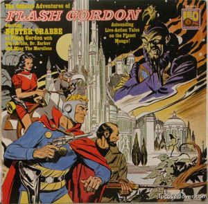 Various - The Official Adventures Of Flash Gordon: buy LP at Discogs