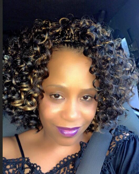 Crochet Hair Gogo : Crochet braids using Freetress GoGo Curls! crocheted hairstyles ...