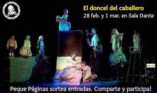 El doncel del caballero - teatro - Palma - toda la familia