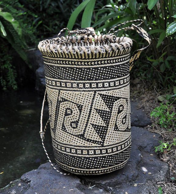 Bamboo and rattan basket | West Kalimantan, Indonesia