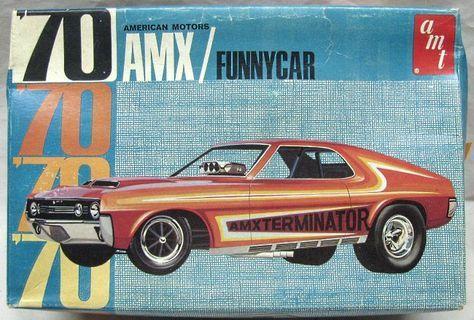 Custom Plastic Model Cars | ... Car American Motors - Build it Stock / Street / Custom / Funny Car