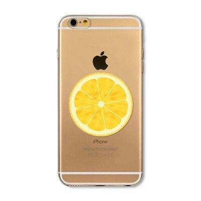 Open orange mobile phone case for iphone 5 5s SE 6 6s 6 plus 6s plus + Nice gift box 072702