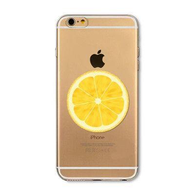 Open orange mobile phone case for iphone 5 5s SE 6 6s 6 plus 6s plus + Nice gift box 072702