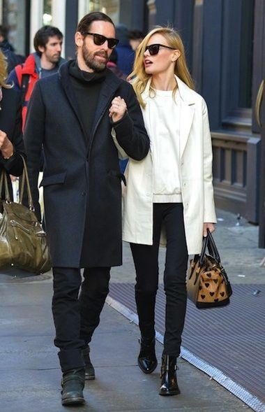 Kate Bosworth Style 2013 New York City burberry prorsum heart bag -02