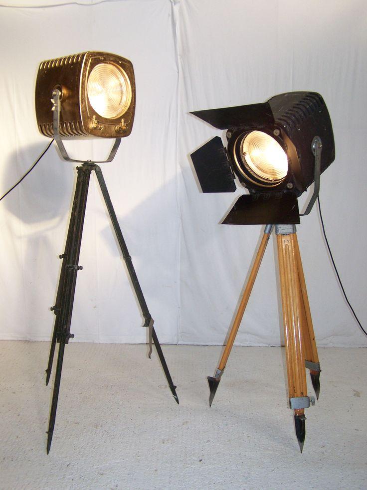 Vintage Industrial Chic Old Studio Film Strand 243 Lights