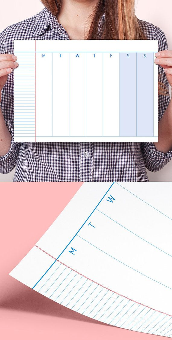 10 best ideas about weekly planner printable on pinterest