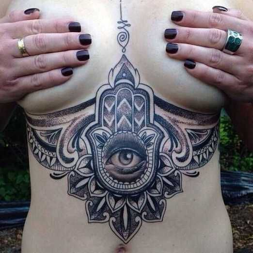 45 best hand of fatima tattoo images on Pinterest