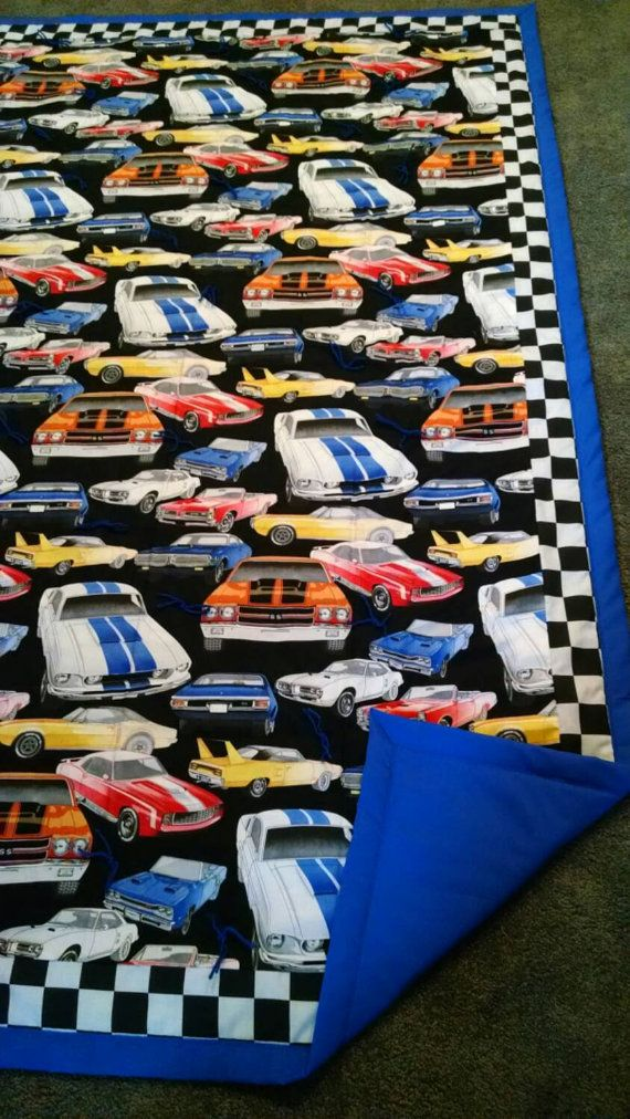 Muscle Car Quilt Luke Pinterest Quilts Cars And Baby Quilts