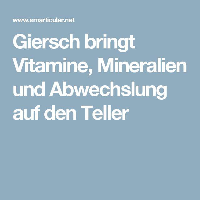Giersch bringt Vitamine, Mineralien und Abwechslung auf den Teller