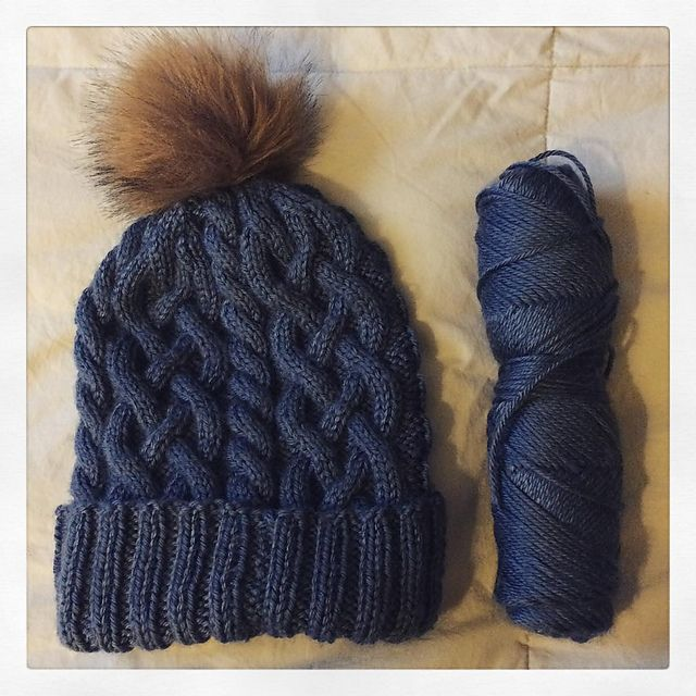 Ravelry: bh293's Traveling Cable Hat