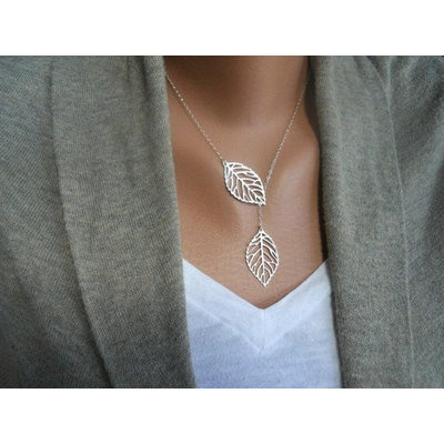 Leaf Necklace - oBaz