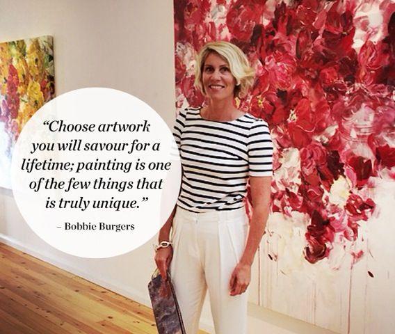 Interview: Painter Bobbie Burgers | House & Home