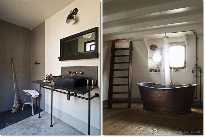 Come arredare il bagno in stile industrialebagni dal mondo un blog sulla cultura dell 39 arredo - Oggetti per arredare il bagno ...