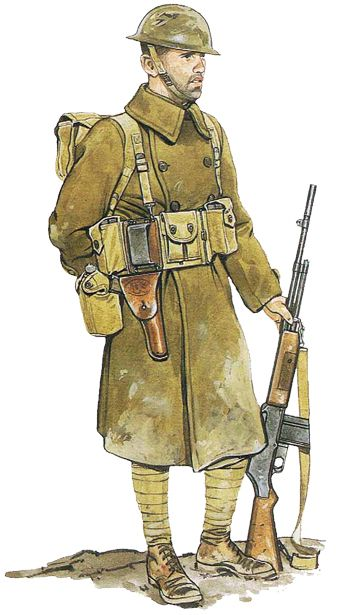 U.S. Army soldier 1918, Europe, pin by Paolo Marzioli                                                                                                                                                                                 Mais
