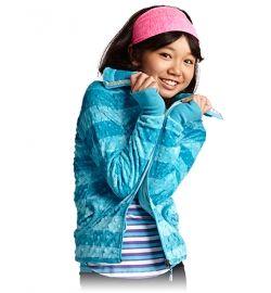 minky luxe iii jacket in caspian stripe