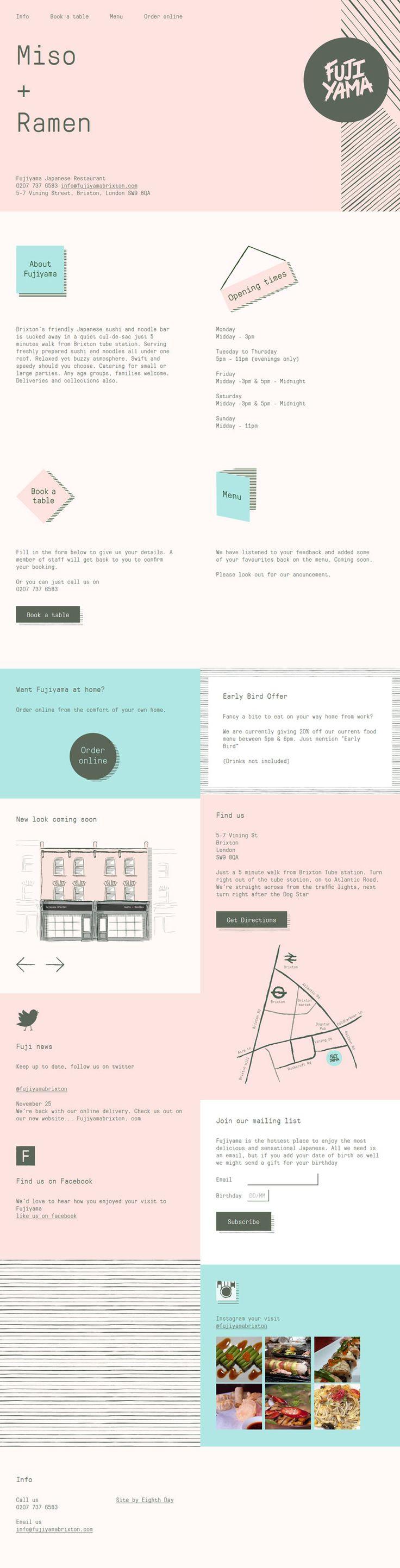Fujiyama Brixton - Pastel Restaurant Design