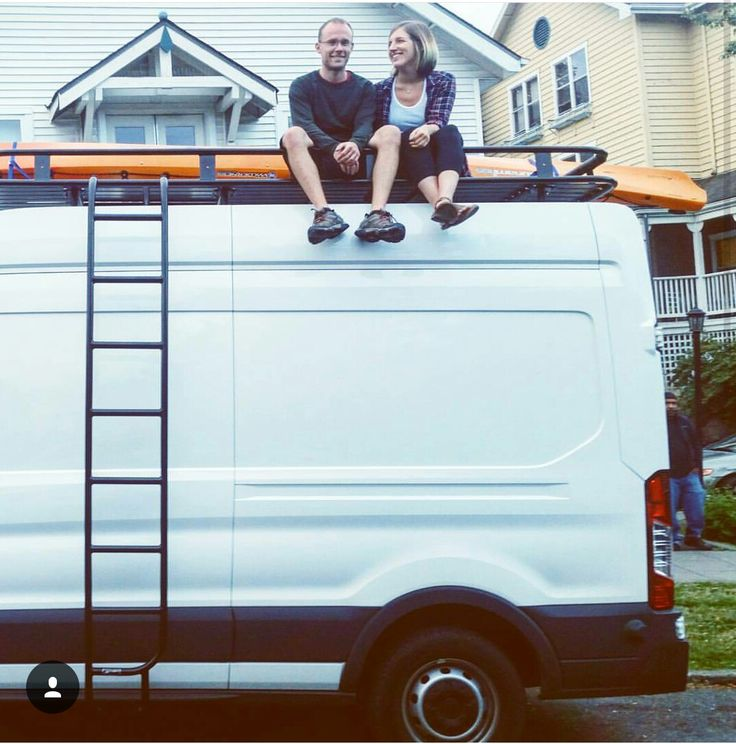 Ford Transit Owners Sitting Pretty On Their New Aluminess Roof Rack Photo Cred Laura Hughes