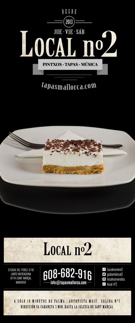 postre / Nachtisch / dessert / Nachspeise / banoffee / Banoffee / banofi / de local n°2 / local2 / localnumero2 / localnumerodos / Marratxí / Mallorca / info@tapasmallorca.com … 608-682916