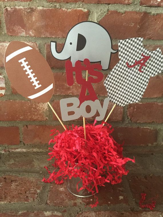 Alabama Roll Tide Football themed Baby by TheCraftyGodMother