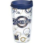Tervis Milwaukee Brewers bubble tumbler with lid.  Great Father's Day gift idea for Dad.  Find it at Tobin's In Oconomowoc, WI.