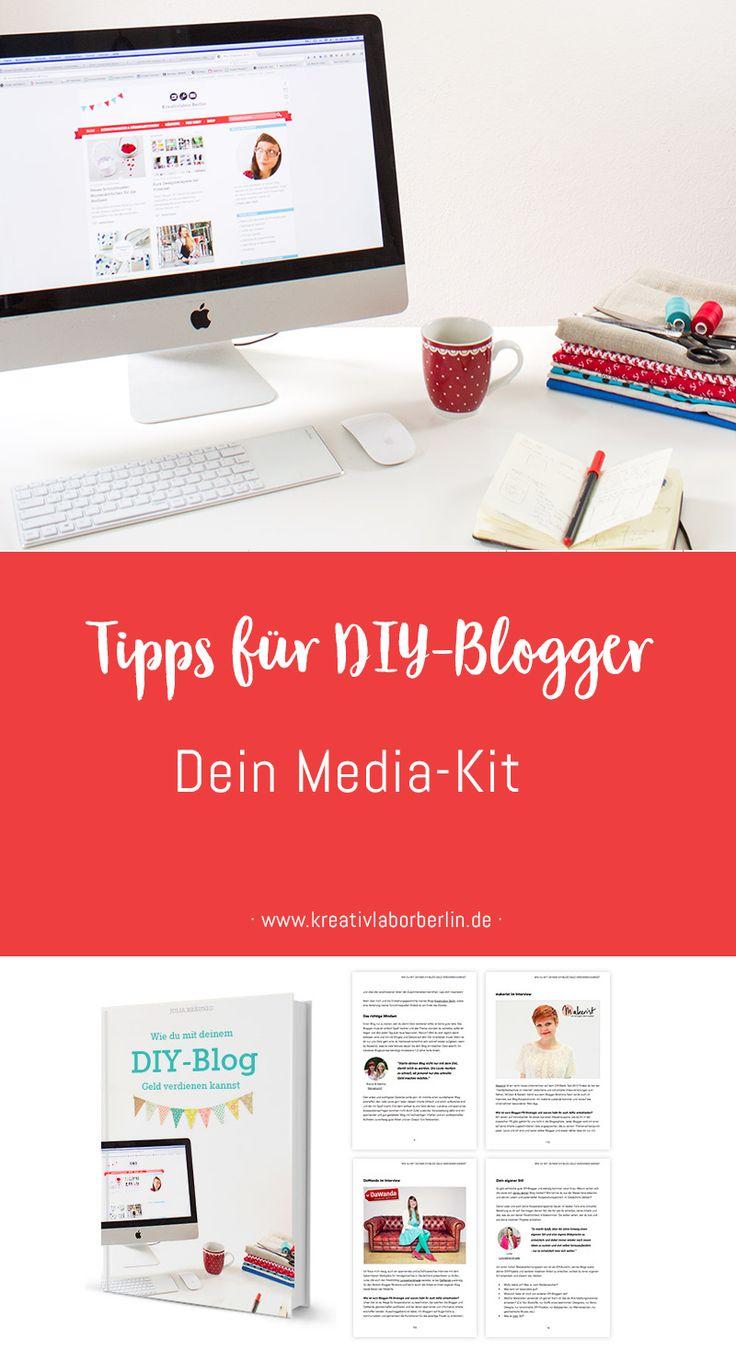 Tipps für DIY-Blogger: Dein Media-Kit