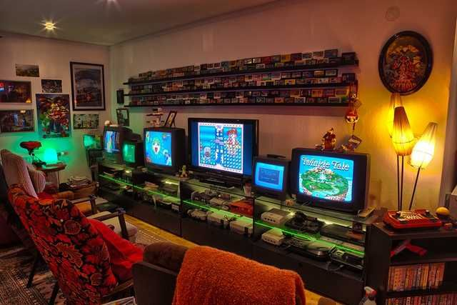 Gaming Rooms That Make You Jelly Gaming Post Video Game Rooms Game Room Small Game Rooms