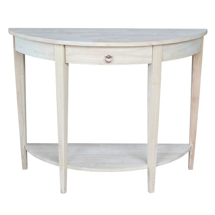 bay shore collection half moon console table with drawer black mirror contemporary mirrored venetian glass venus