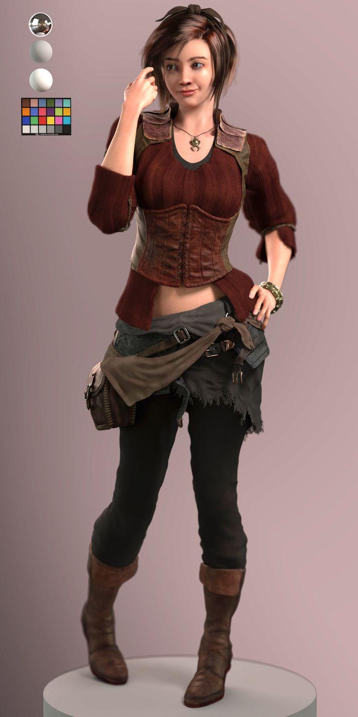 leah cosplay