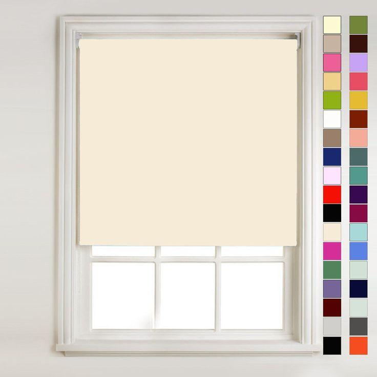 23 best roller blinds images on pinterest shades shades. Black Bedroom Furniture Sets. Home Design Ideas