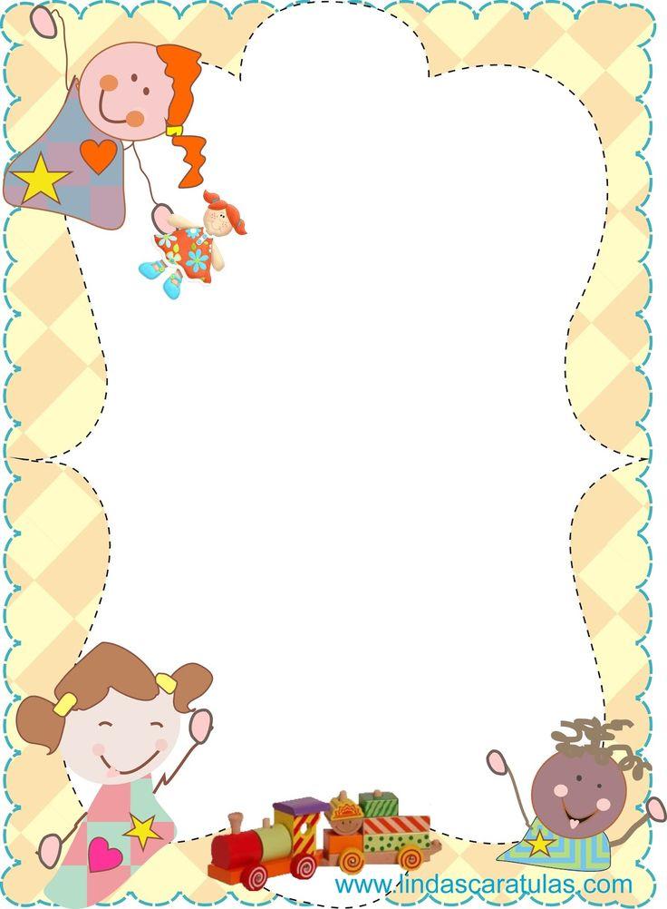 Bordes para fotos infantiles im 225 genes de bordes 17 - Marcos para fotos infantiles ...