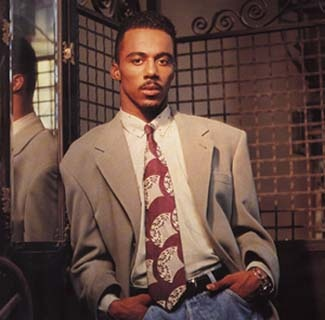 Ralph Tresvant (young) -- lead singer of New Edition