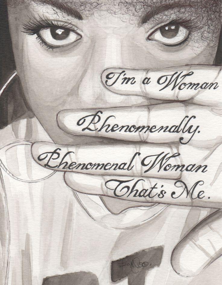 Phenomanal Woman By Maya Angelou Tumblr Kulorbandit -8069