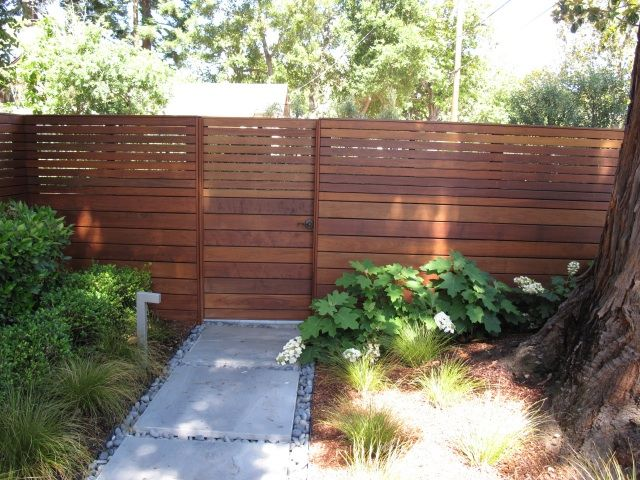 Best cool wood fences images on pinterest
