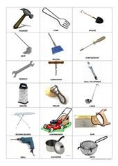 Household Items Picture Dictionary worksheet - Free ESL printable worksheets made by teachers