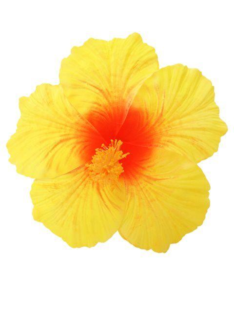 Yellow Jumbo Hibiscus Hair Stem 7 Hawaiian Goods In 2018