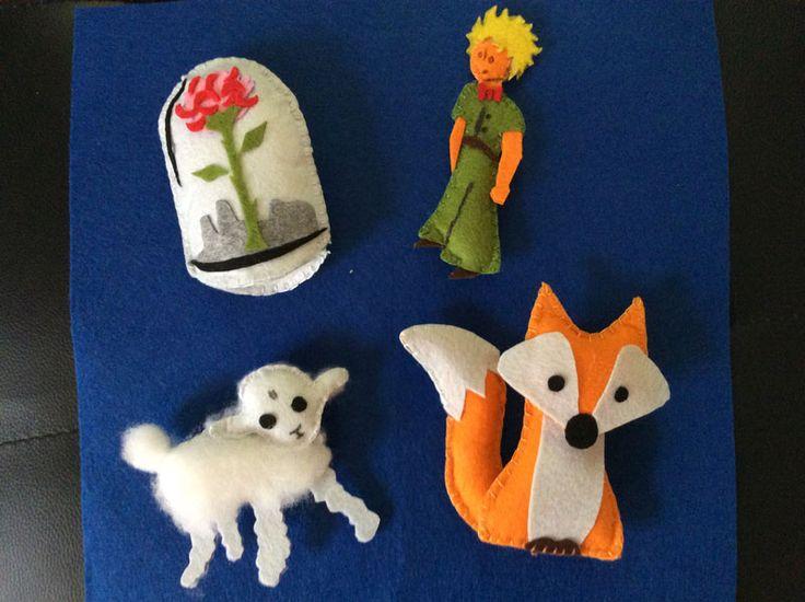 modele figurines mobile Le petit prince chambre d'enfant