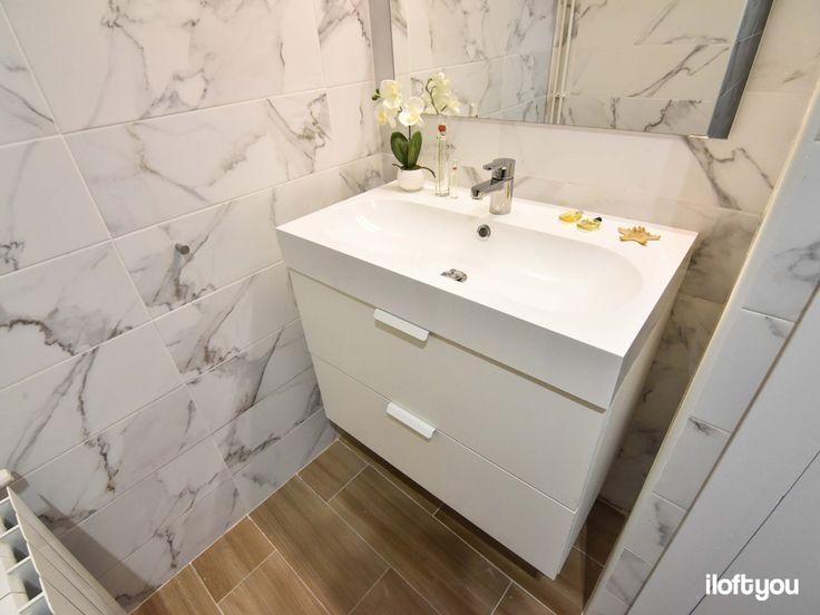 #proyectotravessera #iloftyou #interiordesign #barcelona #ikea  #white #godmorgon #marble