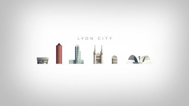 Starting off the most significants building of the city of Lyon, like the cathedral, the opera house, the airport railway station and the auditorium, I create this image for a cleaning truck company in collaboration with Tigrelab studio.  After a while I make this animation of the city like a practice about 3D animation and composition. I hope you enjoy it!  Music: Inner Peace by Jon Hopking for album opalescent (without commercial purposes)