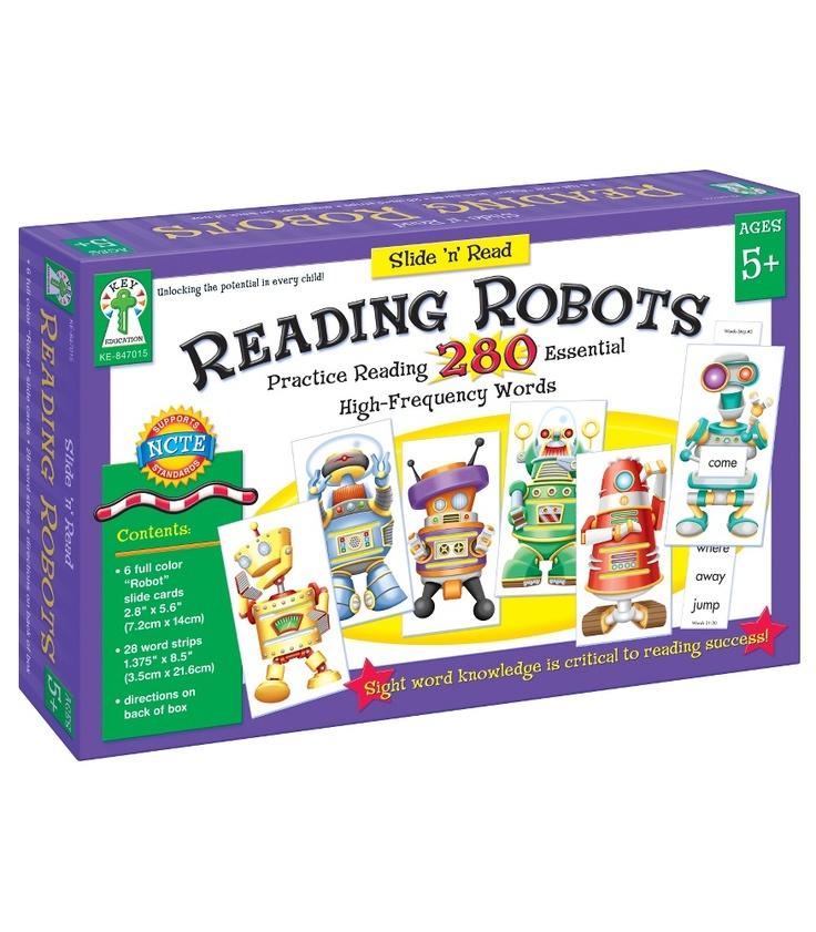 Reading Robots Classroom Kit - Carson Dellosa Publishing Education Supplies