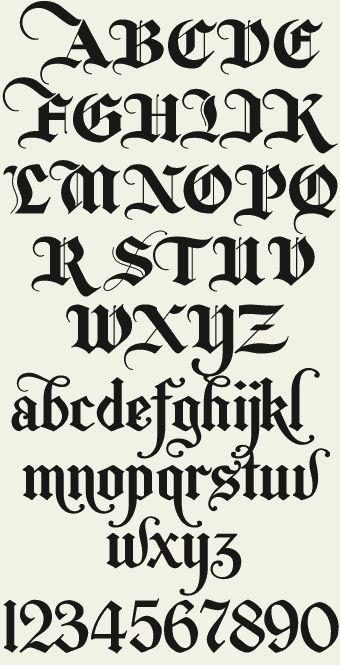 Doesn't it look like newspaper letters?