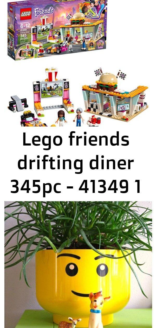 LEGO Friends Drifting Diner Kit 41349 345pcs