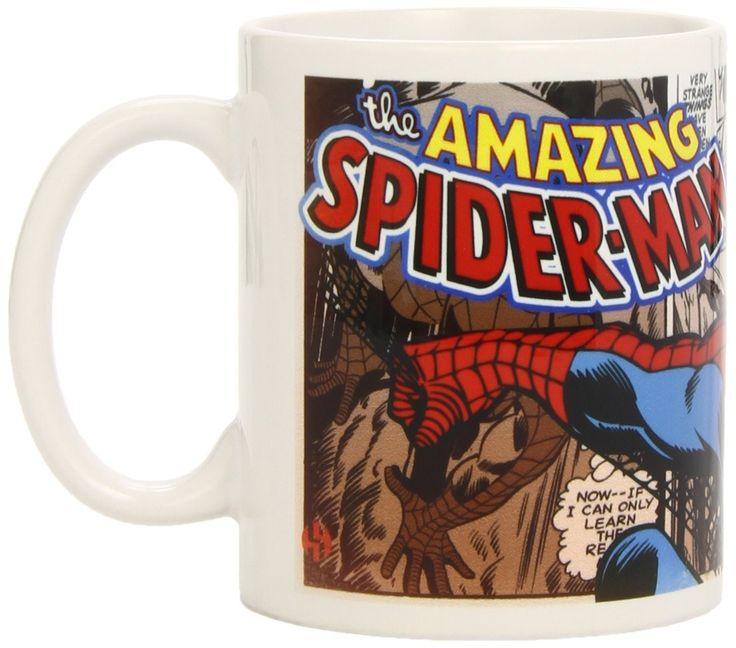 Marvel Spiderman Comic Strip Ceramic Mug - £12.99
