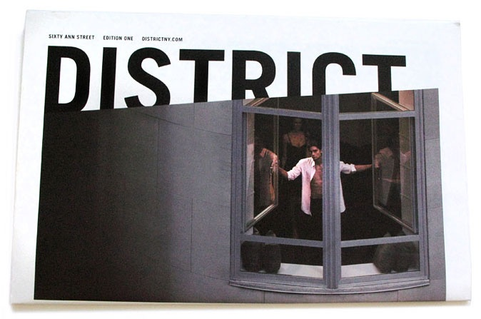 District / property brochure by Language Dept.