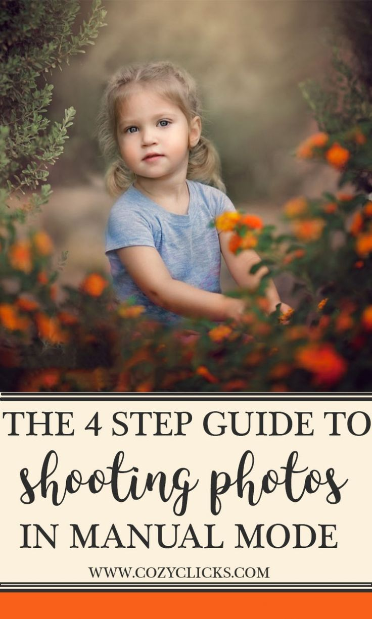 Are you a new photographers trying to figure out how to shoot in manual mode? Read here to learn how to shooting with your camera in manual mode in 4 easy steps!