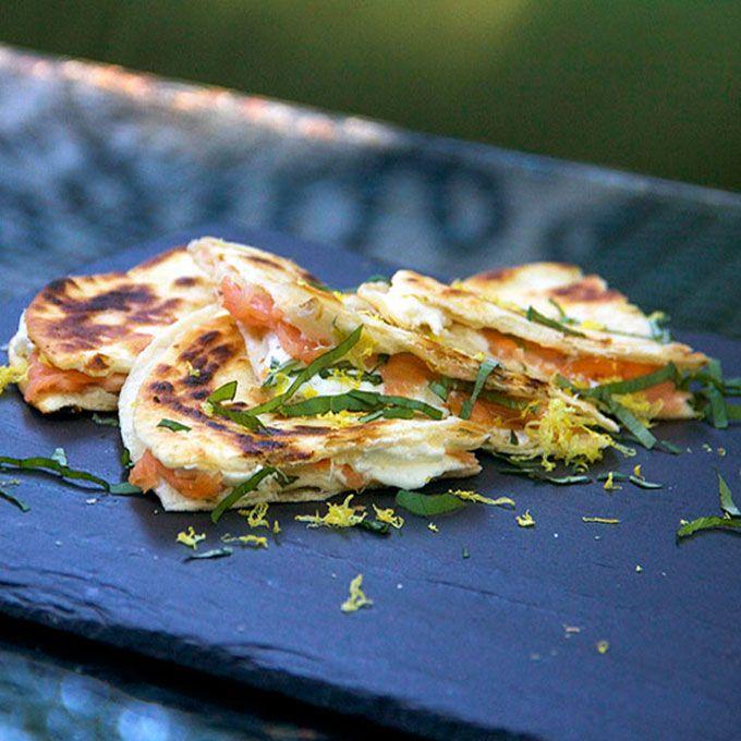 chefs and authors crispy pancetta burrata and tomato sandwiches photo ...
